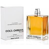 Мужская туалетная вода Dolce&Gabbana The One 100ml  (тестер без крышечки) DIZ /0-031