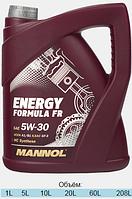 Синтетическое моторное масло MANNOL ENERGY FORMULA FR 5W-30 (5л)