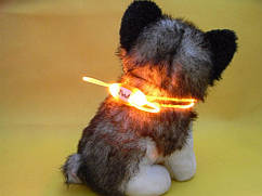 Миниатюрный ошейник для собак  Розовый