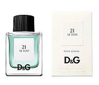 Туалетная вода унисекс Dolce & Gabbana 21 Le Fou 100 ml (Дольче Габбана Ле Фу 21)