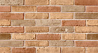 Обои на стену, кирпич, светлый,  влагостойкие, бумажные, 86-03, 0,53*10м