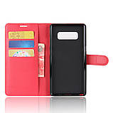 Чехол-книжка Bookmark для Samsung Galaxy Note 8/N950 red, фото 4