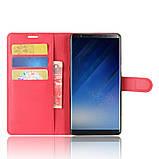 Чехол-книжка Bookmark для Samsung Galaxy Note 8/N950 red, фото 5