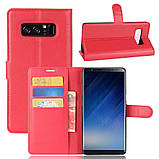 Чехол-книжка Bookmark для Samsung Galaxy Note 8/N950 red, фото 6