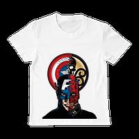 "Футболка ""Captaim America and Red skull"", фото 1"