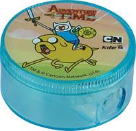 "Точилка круглая, с контейнером ""Adventure Time"""