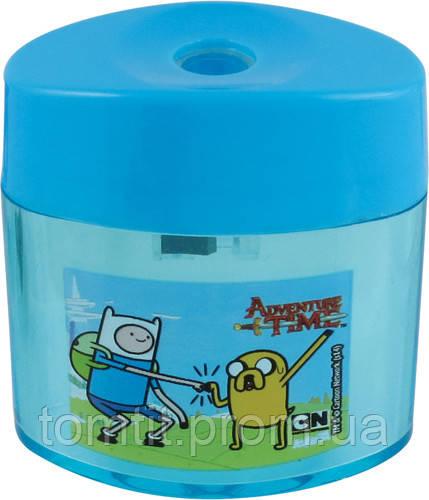 """Точилка овальная, с контейнером """"Adventure Time"""""""