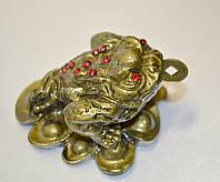 Жаба на монетах - символ богатства и материального благополучия