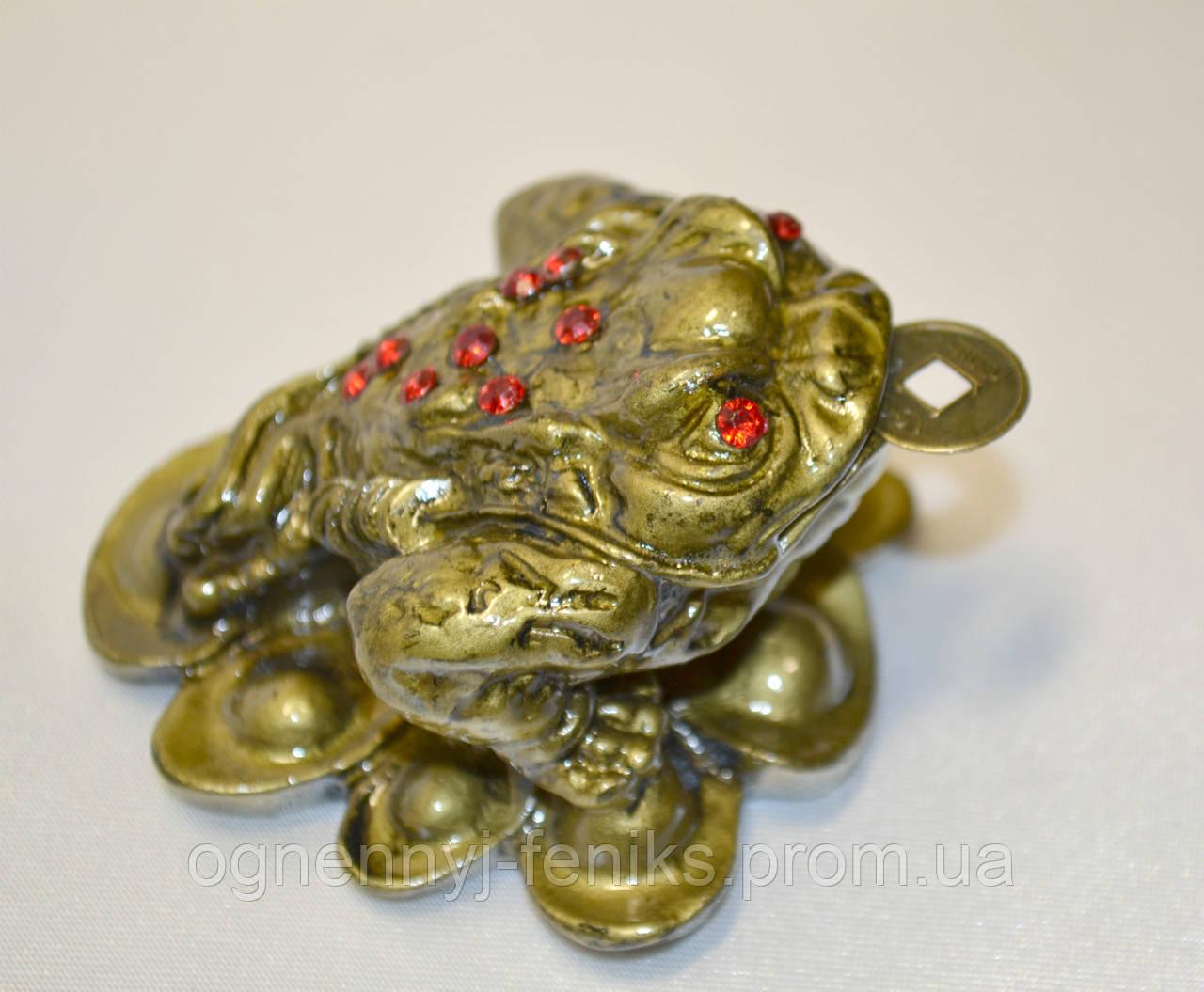 Жаба на монетах - символ богатства и материального благополучия - Огненный Феникс в Одессе