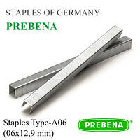 Скобы PREBENA | скоба 6х12,9 мм обивочная, мебельная