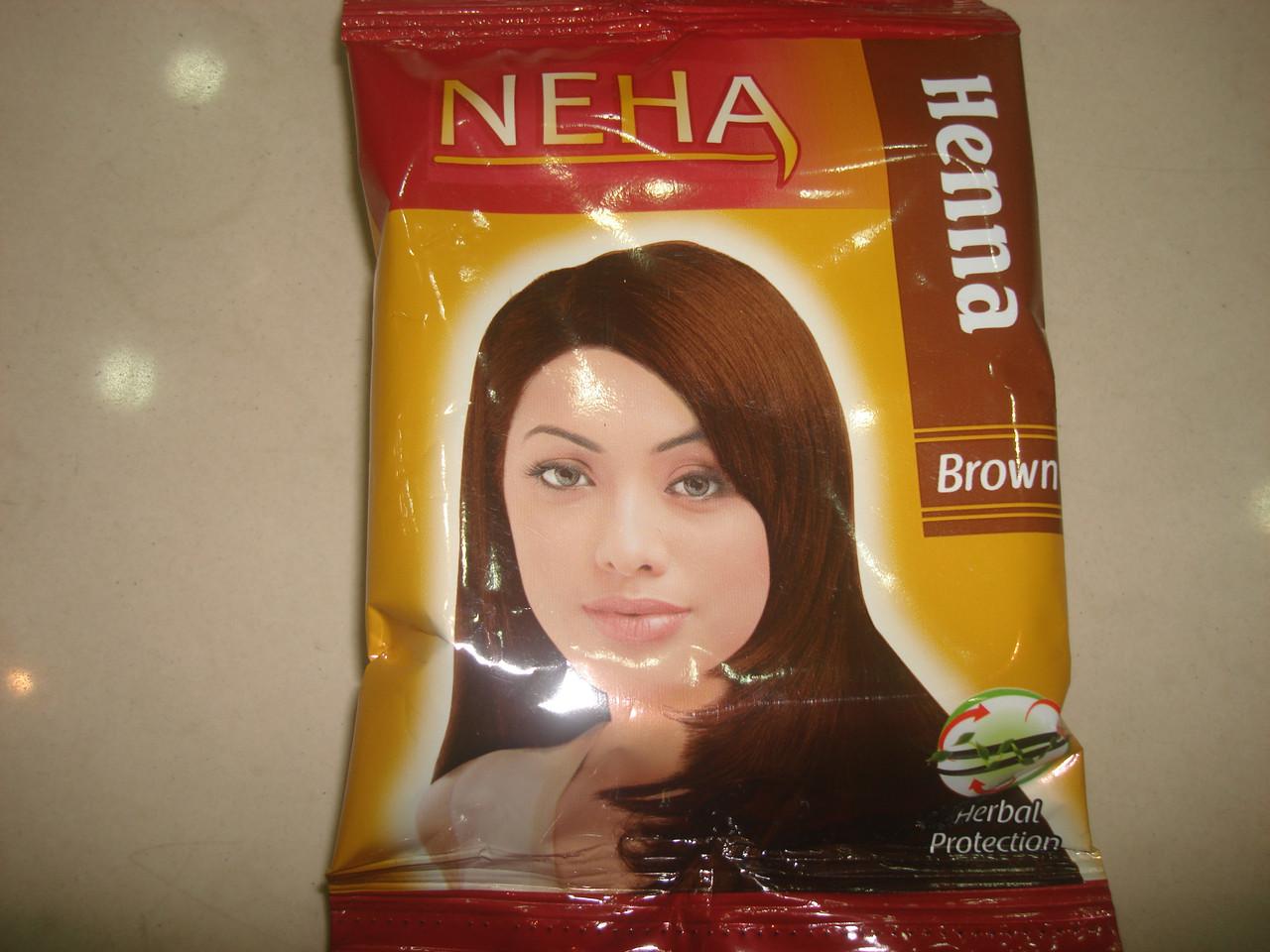 Хна для волос 20 грамм NEHA Brown
