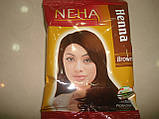 Хна для волосся 20 грам NEHA Brown, фото 2