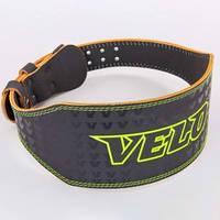Пояс атлетический кожаный VELO VL-8180  ( p XL)