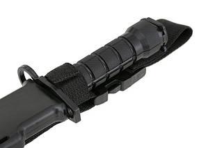 Имитация штык-ножа к репликам M4/M16 – BLACK  [CYMA] (для страйкбола), фото 2