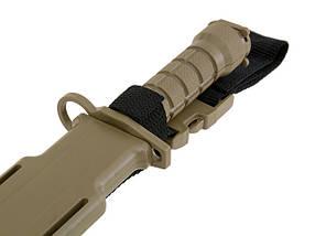 Имитация штык-ножа к репликам M4/M16 – TAN   [CYMA] (для страйкбола), фото 2