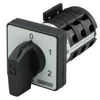 Кулачковый переключатель 2-ступенчатый 3-фазный (0-1-2) 16А