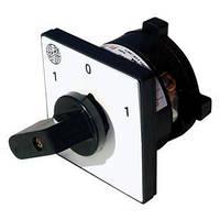 Кулачковый переключатель 3-фазный 16А (A/Y/0/Y/A)