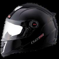 Шлем (детский - интеграл) LS2 FF392 SINGLE черный глянцевый