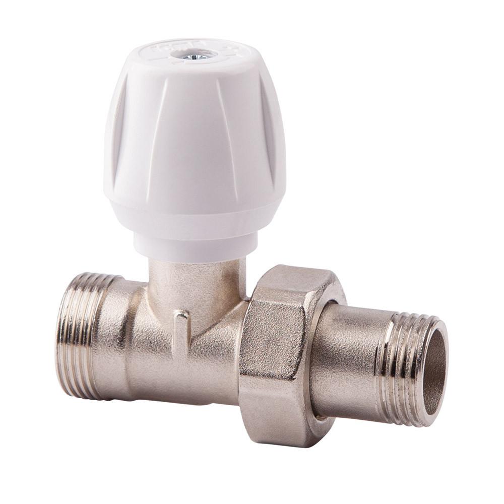 Прямой ручной вентиль простой регулировки 1/2 ICMA 814 (Италия)