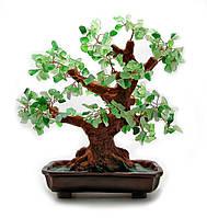 """Дерево счастья из камнями """"Нефрит"""""""