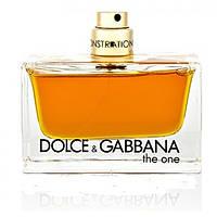 Женская парфюмированная вода Dolce&Gabbana The One (роскошный, неповторимый аромат) тестер