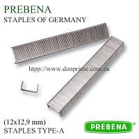 Скобы PREBENA | скоба 12х12,9 мм обивочная для пневмопистолета