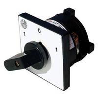 Кулачковый переключатель 3-фазный (0-1-Start) 16А