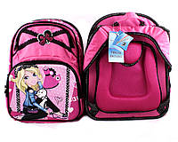 Рюкзак Барби ортопедический . Рюкзак Barbie школьный для девочки-ученицы младших и старших классов. Рюкзак дет