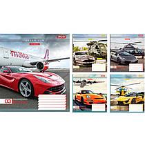 Тетрадь А5 на 36 листов - DREAM CAR, цена за упаковку 15 штук, 763593