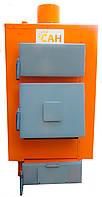 Котлы твердотопливные длительного горения с автоматическим блоком управления САН Эко Турбо 10 квт