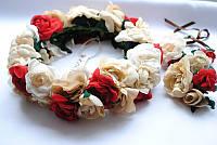 Веночек с цветами «Весна»