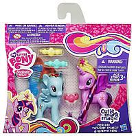 Принцесса Твайлайт Спаркл и Рейнбоу Деш-Twilight SparkleRainbow Dash,My Little Pony,Cutie Mark Magic - 156181