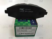 Колодки тормозные передние PMC (Корея) R13 на Daewoo Lanos 1.5, Matiz., фото 1