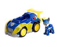 Спасательный автомобиль Гонщика Spin Master, звук, свет, Щенячий Патруль Мегащенки -Mighty Pups,Chase - 156206