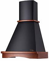 Вытяжка кухонная купольная PYRAMIDA R 90 BLACK NUT/U