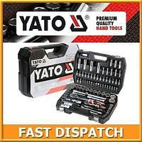 Профессиональный набор инструментов для СТО ключи YATO 216 YT-38841