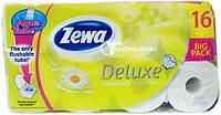 ZEWA Deluxe Ромашка бумага туалетная 3-х слойная, 16 шт.