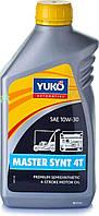 Масло   4T, 1л   (10W30, полусинтетика, для садовой техники, MASTER SYNT)   YUKO   (#GRS)