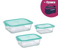 Набор контейнеров с сумкой LUMINARC KEEP'N BOX 3 шт (P6634)