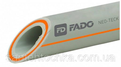 ПП Труба FADO PP-RCT армована скловолокном (PPR-FB-PPR) PN-20 25х4 трудова книжка,2 (1шт=4м), фото 2