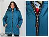 Демисезонное женское пальто букле ( без подклада ) р. 62-72, фото 3