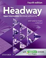 New Headway Upper-Intermediate Fourth Edition Workbook + iChecker without Key