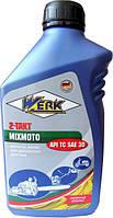 Масло моторное WERK 2-TAKT MIXMOTO API TC (1л.)