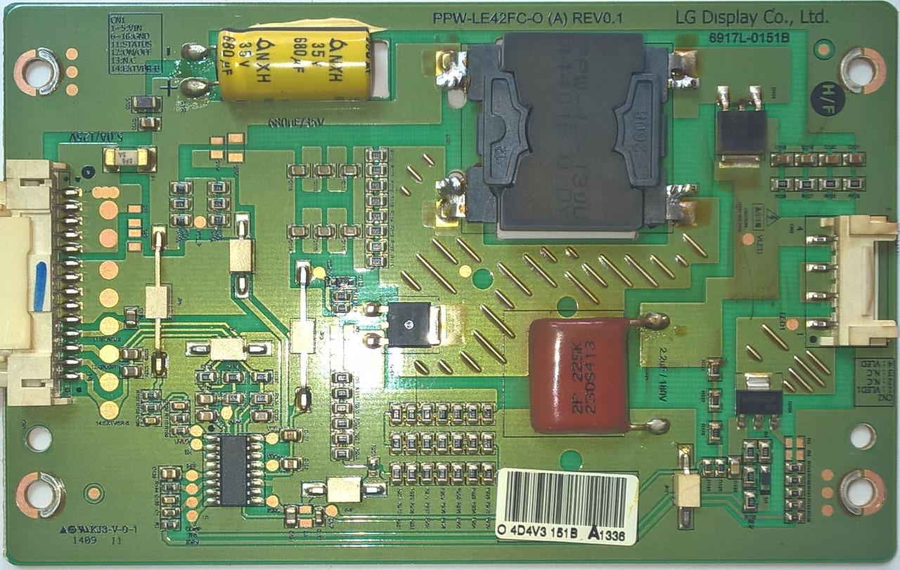 Инвертор 6917L-0151B к телевизору PHILIPS 42PFK5209.12