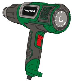 Фен технічний Протон ФТ-2000/З