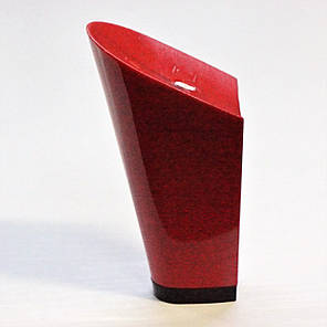 Каблук женский пластиковый 9517 красный р.1-4  h-8,6-9,7 см., фото 2