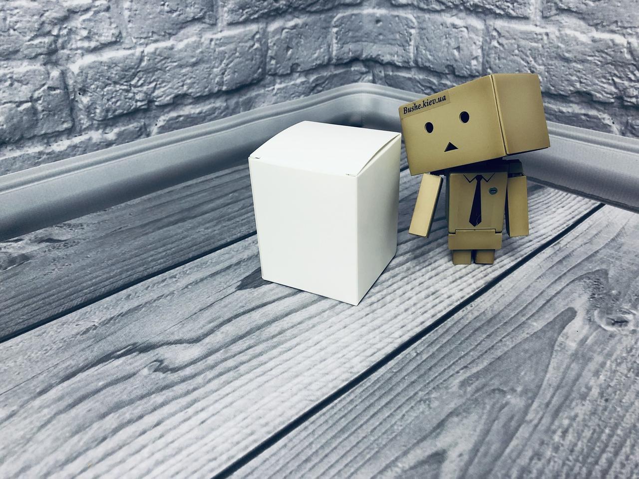 Коробка / Бонбоньерка / 60х60х75 мм / Белый / б.о.