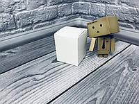 Коробка / Бонбоньерка / 60х60х75 мм / Белый / б.о., фото 1