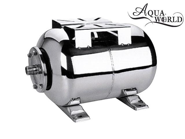 Гидроаккумулятор 24л нержавеющая сталь Aqua-World НГ001Н