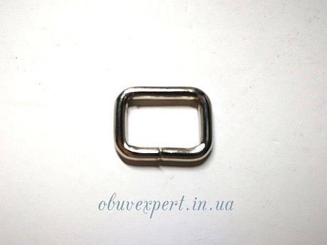 Рамка проволочная 10,5х7 мм, толщ 2 мм Никель , фото 2